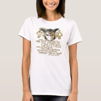 Twelfth Night Quote (Gold Version) T-Shirt