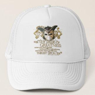 Twelfth Night Quote (Gold Version) Trucker Hat