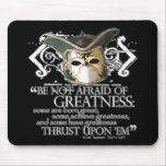 Twelfth Night Quote Mousepads