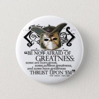 Twelfth Night Quote Pinback Button