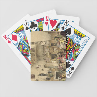 Twelfth Night Revels in the Great Hall, Haddon Hal Bicycle Playing Cards