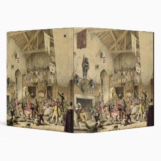 Twelfth Night Revels in the Great Hall, Haddon Hal Binder
