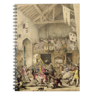 Twelfth Night Revels in the Great Hall, Haddon Hal Notebook