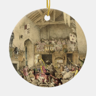 Twelfth Night Revels in the Great Hall, Haddon Hal Ornaments