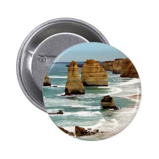 Twelve apostles pinback button