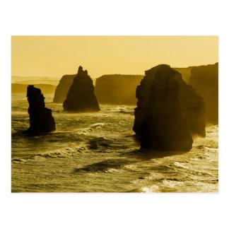 Twelve Apostles on the Great Ocean Road Postcard