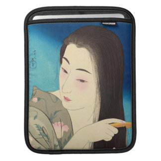 Twelve Aspects of Women, Hair Combing Kotondo Sleeves For iPads