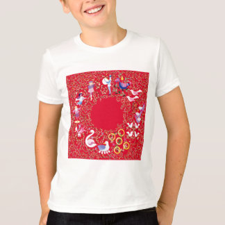 Twelve days of Christmas clothes T-Shirt