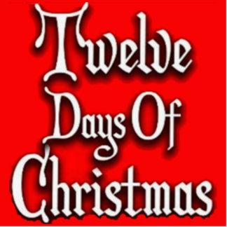 Twelve Days of Christmas Acrylic Cut Out