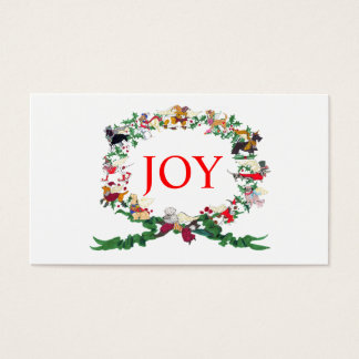 Twelve Dogs of Christmas Gift Tag