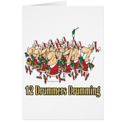 12 Drummers Drumming Twelve drummers drumming 12th