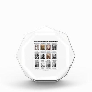 Twelve Founding Schools Of Thermodynamics Acrylic Award