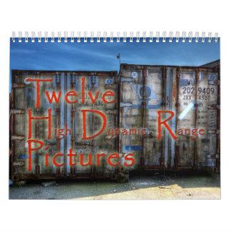 Twelve HDR Pictures Calendar