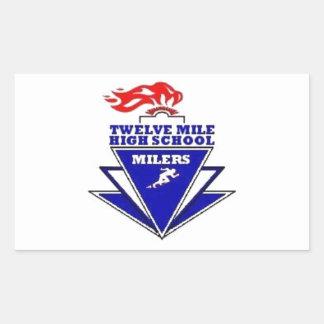 Twelve Mile, IN. High School Sticker
