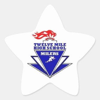 Twelve Mile, IN. High School Stickers