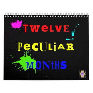 Twelve Peculiar Months 2012 Calendar