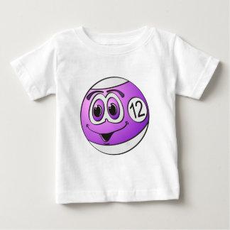 Twelve Pool Ball Cartoon T Shirts