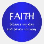 Twelve Powers - FAITH Stickers