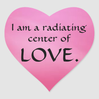Twelve Powers - LOVE Heart Sticker
