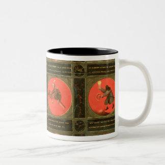 Twelve Proverbs, c.1558-60 Two-Tone Coffee Mug
