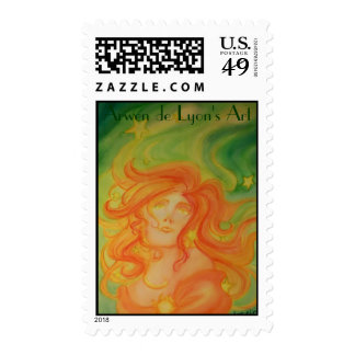 Twelve Stars Postage Stamp