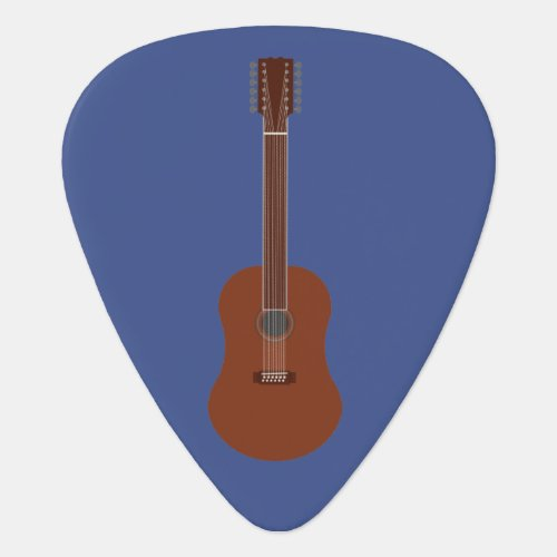 Twelve String Acoustic Guitar Personalized Pick