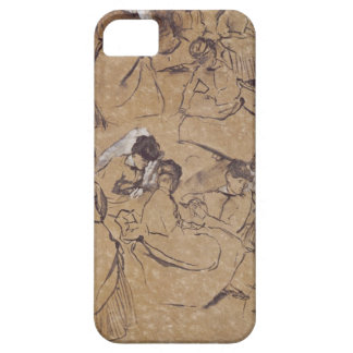 Twelve studies of women in costume of the Second E iPhone 5 Cover