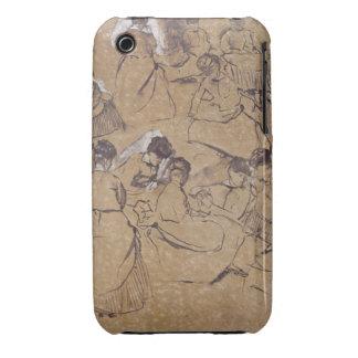 Twelve studies of women in costume of the Second E Case-Mate iPhone 3 Cases