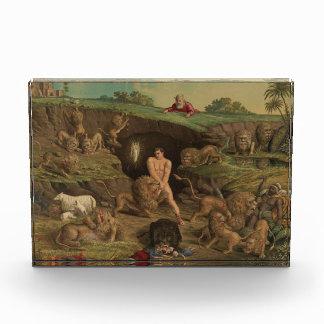 Twelve Temptations Daniel in the Lions' Den (1877) Acrylic Award