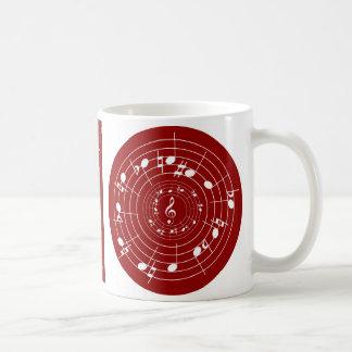 Twelve-tone row mug