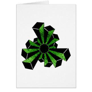 Twelve Towers Crop-Circle Card