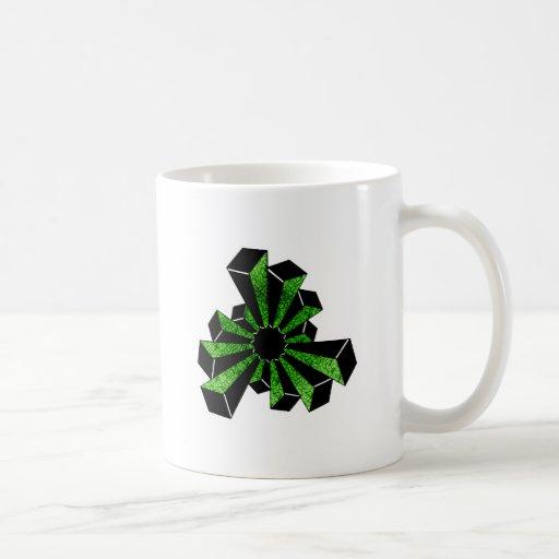 Twelve Towers Crop-Circle Classic White Coffee Mug