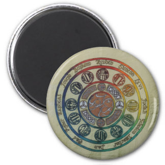 Twelve tribes and disciples 2 inch round magnet