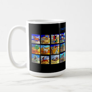 TWELVE TRIBES OF ISRAEL COFFEE MUG