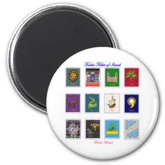 Twelve Tribes of Israel Std. Magnets