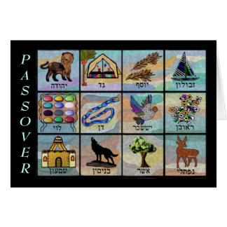 Twelve Tribes Passover Card