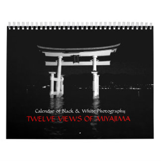 Twelve Views of Miyajima Calendar