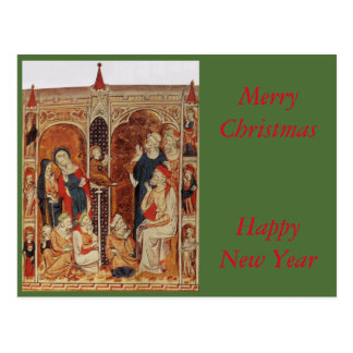 Twelve Year old Christ in the temply Postcard