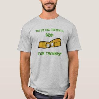 """Twenties for Twinkies"" Program T-Shirt"