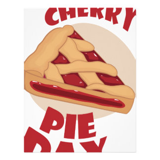 Twentieth February - Cherry Pie Day Letterhead