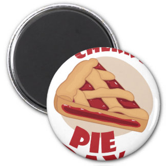 Twentieth February - Cherry Pie Day Magnet