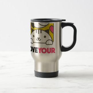 Twentieth February - Love Your Pet Day Travel Mug