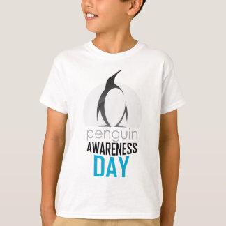 Twentieth January - Penguin Awareness Day T-Shirt