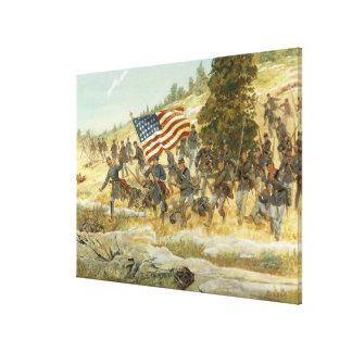 Twentieth Maine by H. Charles McBarron Print Canvas Print