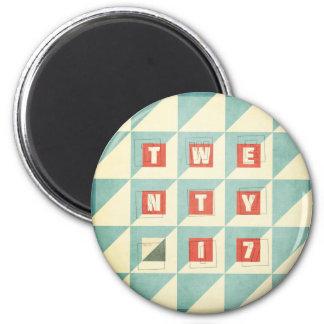 Twenty 17 magnet