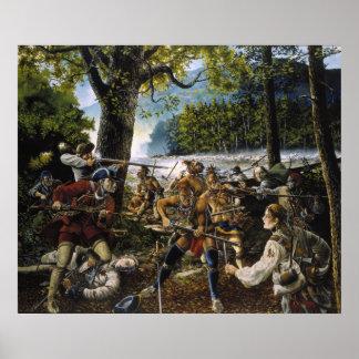 Twenty Brave Men by Jackson Walker Poster