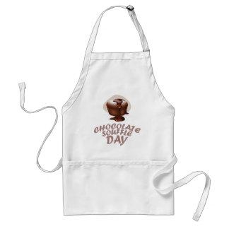 Twenty-eighth February - Chocolate Soufflé Day Adult Apron