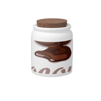 Twenty-eighth February - Chocolate Soufflé Day Candy Jars
