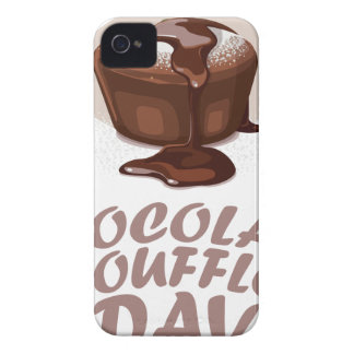 Twenty-eighth February - Chocolate Soufflé Day Case-Mate iPhone 4 Case