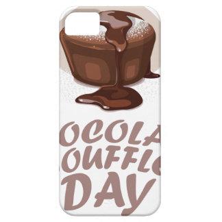 Twenty-eighth February - Chocolate Soufflé Day iPhone SE/5/5s Case